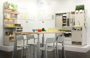 Ei enää jääkaappeja, reseptejä ehdottava pöytä... Ikea visioi uudenlaisen keittiön (300 x 195)