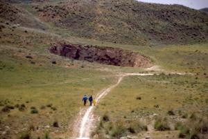 Jamalin ja Gydanin niemimaat röyhtäilevät metaania Siperiassa - sulava ikirouta muodostanut 7 000 kaasukuplaa (800 x 537)