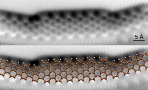 5-7 atomin levyinen grafeeninauha nykyelektroniikan tärkeä rakennuspalikka -