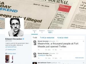Edward Snowden nyt Twitterissä - ei aio seurata muita kuin tätä tiliä (800 x 596)