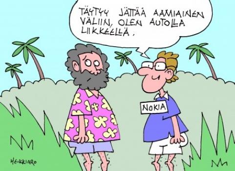 Nokian miehet maailmalla 30.10.15