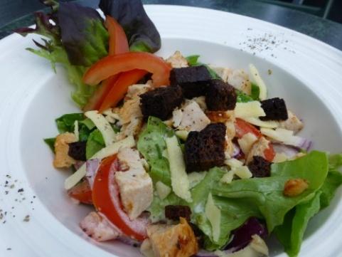 Ystävänpäivän Caesar salaatti 12.2.