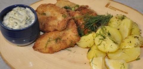 Vanhanaikaisesti friteerattu kala 20.1.17